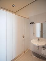 WC-Trennwand