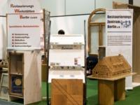 Klicken Sie auf das Bild, um sich einen Eindruck vom Messestand zu verschaffen. echtholz-Produkte, bis 25. Februar auf der Bautec!