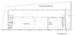 Schnitt Erdgeschoss