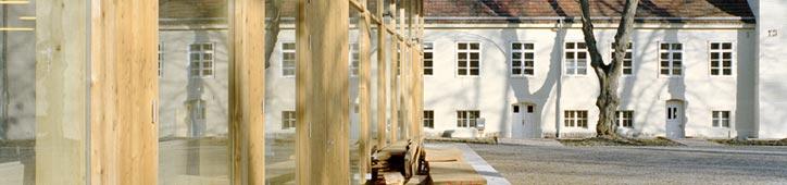 Werkstattgebäude der Restaurierungswerkstätten Berlin